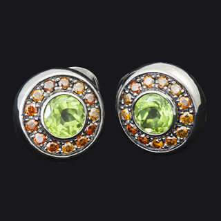 Chrysolite Earrings